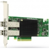 Emulex Контроллер 10Gb/s PCIe Dual-port, 10GBase-SR (short reach optical) (OCe10102-IM)
