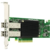 Emulex Контроллер 10Gb/s PCIe dual channel iSCSI 10GBase-SR (short reach optical) (OCe11102-IM)